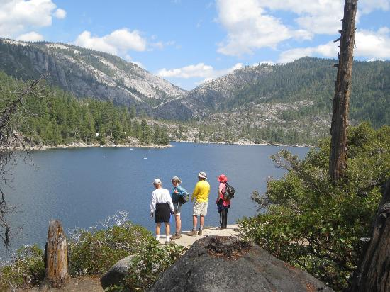 Pinecrest Lake Twain Harte California summer vacation small towns